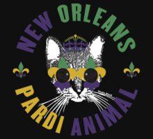 New Orleans Pardi Animal (Mardi Gras) One Piece - Short Sleeve