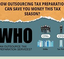 How outsourcing Tax Preparation can save you money this tax season? by Cogneesol Pvt. Ltd.