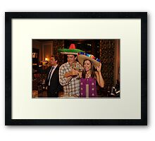 marshall, lily and barney (best night ever)  Framed Print