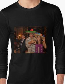 marshall, lily and barney (best night ever)  Long Sleeve T-Shirt