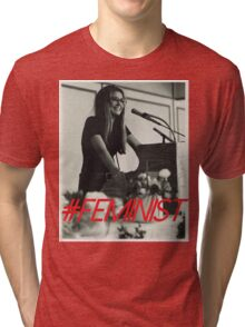Queen of the Feminists Tri-blend T-Shirt