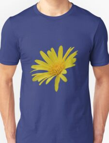 Yellow Daisy Flower Isolated Unisex T-Shirt