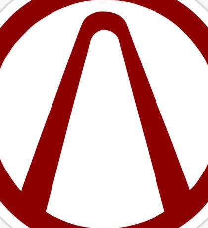 Cult of the Vault Borderlands Symbol Sticker