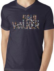 Paul Walker 2 Mens V-Neck T-Shirt