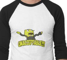 Lemongrab unacceptable Men's Baseball ¾ T-Shirt