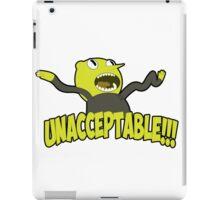 Lemongrab unacceptable iPad Case/Skin
