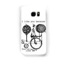 An amusing kind of man Samsung Galaxy Case/Skin
