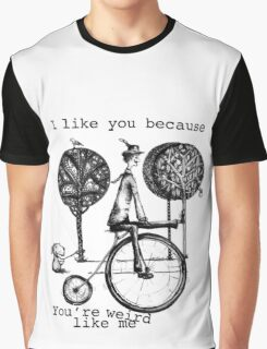 An amusing kind of man Graphic T-Shirt