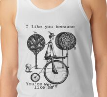 An amusing kind of man Tank Top