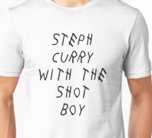 Curry Drake Shot (Black) Unisex T-Shirt