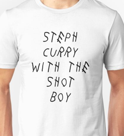 Curry Drake Shot (Black) Unisex T-Shirt