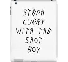 Curry Drake Shot (Black) iPad Case/Skin