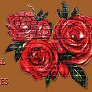 Graffiti Tees-4- ROSES! by DAdeSimone