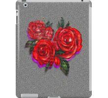 Graffiti Tees-4- ROSES! iPad Case/Skin