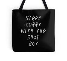 Curry Drake Shot (White) Tote Bag