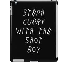 Curry Drake Shot (White) iPad Case/Skin