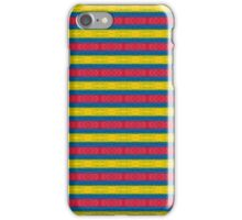 Primary Colors Pattern #2 iPhone Case/Skin