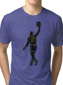 Electric LeBron Tri-blend T-Shirt