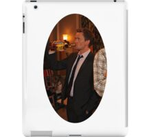 barney getting wasted  iPad Case/Skin