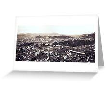 Rio de Janeiro, 1889 Greeting Card