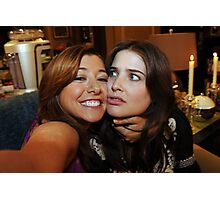 lily and robin (best night ever)  Photographic Print