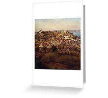 Rio de Janeiro, 1885 Greeting Card