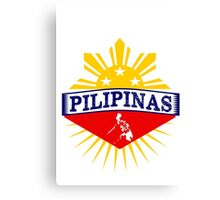 Pilipinas Design - Proud Pinoy Prints Canvas Print