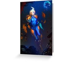 Samus Aran - Metroid Greeting Card