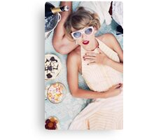 Taylor Swift - Blank Space Music Video (Queen) Canvas Print