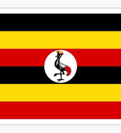 Ugandan Flag Sticker