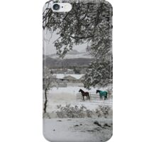 Covered with the Fluffy White Stuff iPhone Case/Skin