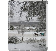 Covered with the Fluffy White Stuff iPad Case/Skin