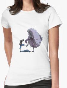 luffy Vs doflamingo Womens Fitted T-Shirt