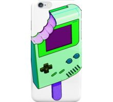 Alien Brain Goo Gameboy iPhone Case/Skin
