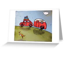 Beetle van Greeting Card