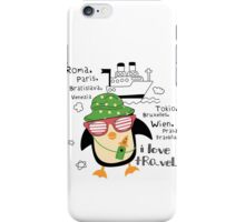 penguin-traveler!) iPhone Case/Skin