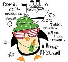 penguin-traveler!) Photographic Print