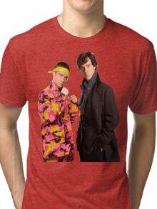 Sherlock Holmes|Ali G Tri-blend T-Shirt