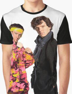 Sherlock Holmes|Ali G Graphic T-Shirt
