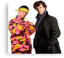 Sherlock Holmes|Ali G Canvas Print