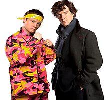 Sherlock Holmes|Ali G Photographic Print