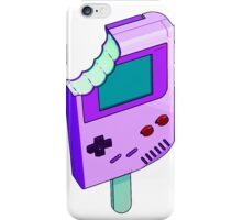 Raspberry Tart Gameboy iPhone Case/Skin