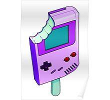 Raspberry Tart Gameboy Poster