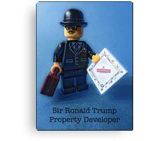 Sir Ronald Trump- Property Developer Canvas Print