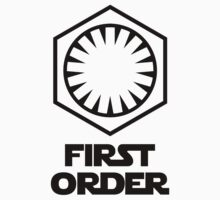 Star Wars - The First Order Symbol Kids Tee