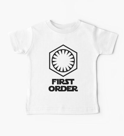 Star Wars - The First Order Symbol Baby Tee