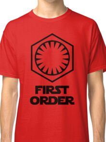 Star Wars - The First Order Symbol Classic T-Shirt