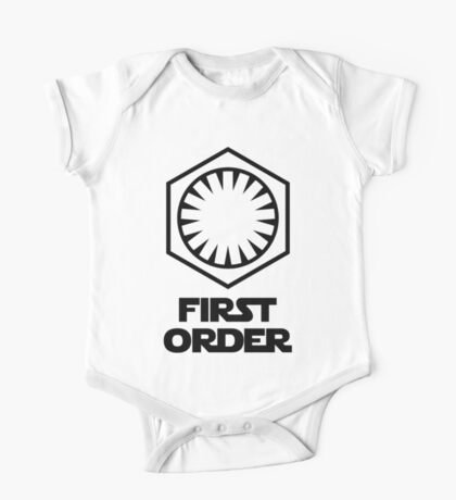 Star Wars - The First Order Symbol One Piece - Short Sleeve