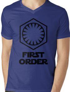 Star Wars - The First Order Symbol Mens V-Neck T-Shirt