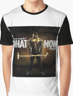 KEVIN HART WHAT NOW AMR (1) Graphic T-Shirt